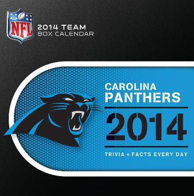 Carolina Panthers - 2014 Box Calendar