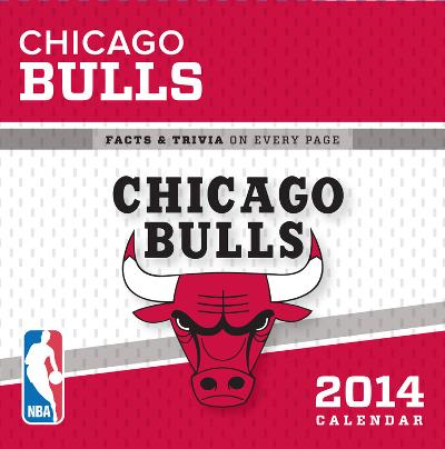 Chicago Bulls - 2014 Box Calendar