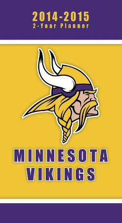 Minnesota Vikings - 2014-15 2-Year Planner