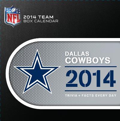 Dallas Cowboys - 2014 Box Calendar