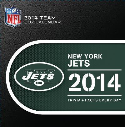 New York Jets - 2014 Box Calendar