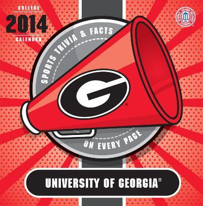 Georgia Bulldogs - 2014 Box Calendar