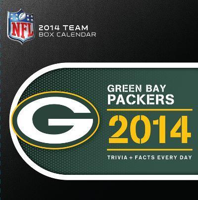 Green Bay Packers - 2014 Box Calendar