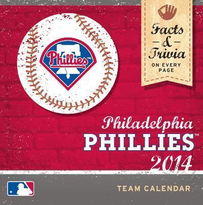 Philadelphia Phillies - 2014 Box Calendar