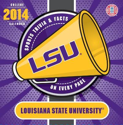 LSU Tigers - 2014 Box Calendar