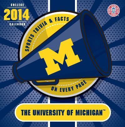 Michigan Wolverines - 2014 Box Calendar