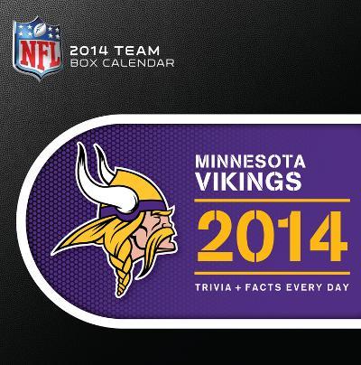 Minnesota Vikings - 2014 Box Calendar