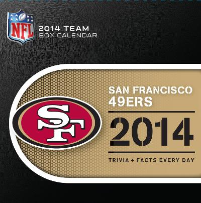San Francisco 49ers - 2014 Box Calendar