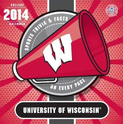 Wisconsin Badgers - 2014 Box Calendar