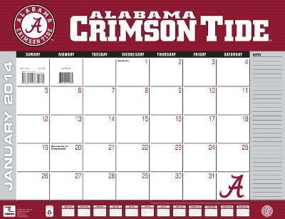 Alabama Crimson Tide - 2014 Desk Calendar