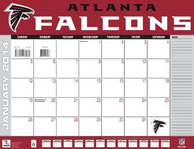 Atlanta Falcons - 2014 Desk Calendar