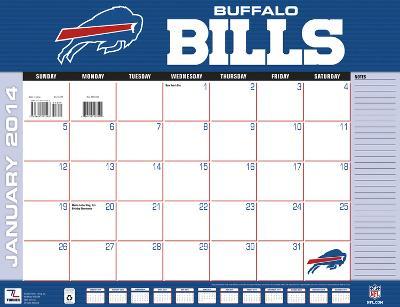 Buffalo Bills - 2014 Desk Calendar