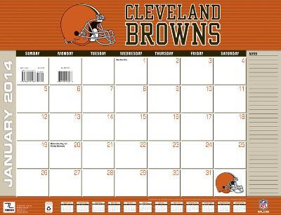 Cleveland Browns - 2014 Desk Calendar