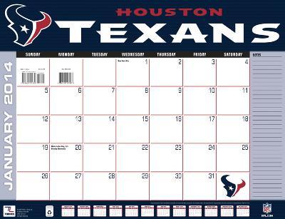 Houston Texans - 2014 Desk Calendar