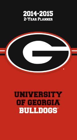 Georgia Bulldogs - 2014-15 2-Year Planner