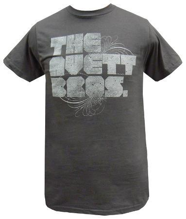 The Avett Brothers - Grey Distressed Logo (slim fit)