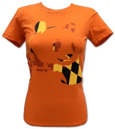 Juniors: Panda Bear - Orange Panda