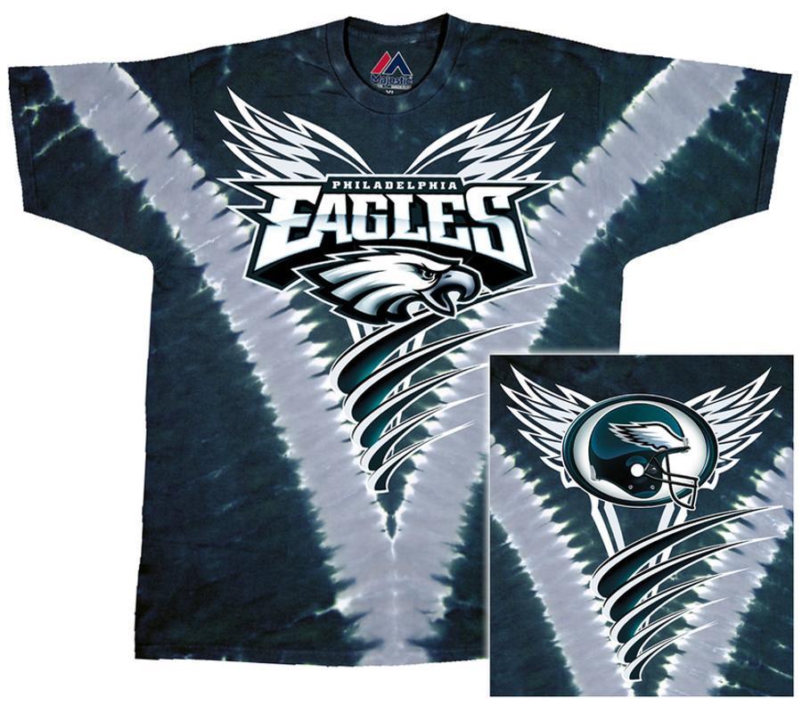 453db96729d NFL  Eagles Logo V-Dye T-Shirt at AllPosters.com