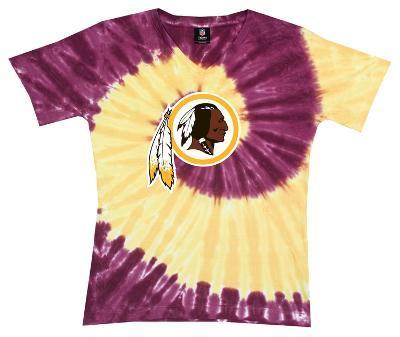 Juniors: NFL: Redskins Logo Spiral V-Dye