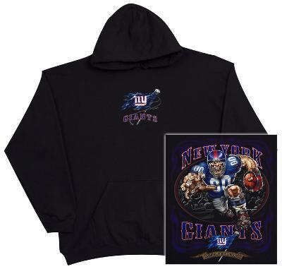 Hoodie: NFL: New York Giants Running Back (Front/Back)