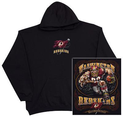 Hoodie: NFL: Washington Redskins- Running Back (Front/Back)