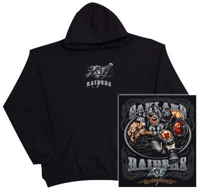 Hoodie: NFL: Oakland Raiders Running Back (Front/Back)