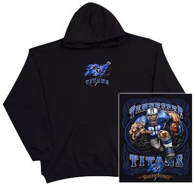 Hoodie: NFL: Tennessee Titans- Running Back (Front/Back)