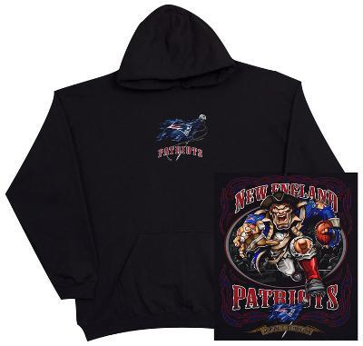 Hoodie: NFL: New England Patriots- Running Back (Front/Back)