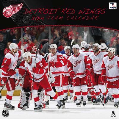 Detroit Red Wings - 2014 Calendar