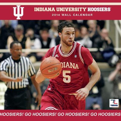 Indiana Hoosiers - 2014 Calendar