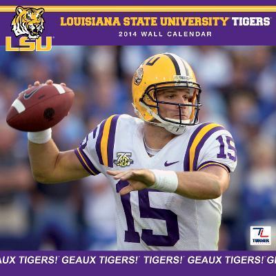 LSU Tigers - 2014 Calendar