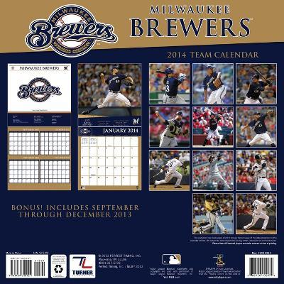 Milwaukee Brewers - 2014 Calendar