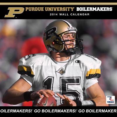 Purdue Boilermakers - 2014 Calendar