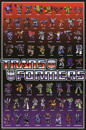 Transformers Line Up