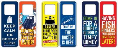 Doctor Who Door Hanger Pack (6 designs)