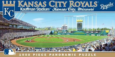 Kansas City Royals 1000 Piece Panoramic Puzzle