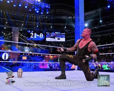 The Undertaker Wrestlemania 29 Action