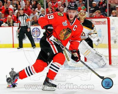 Jonathan Toews Game 5 of the 2013 Stanley Cup Finals Action