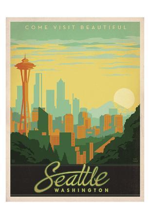 Come Visit Beautiful Seattle, Washington