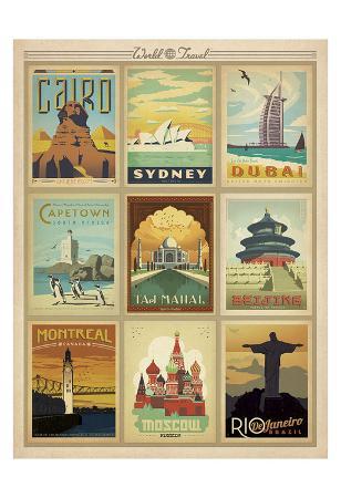 World Travel Multi Print II