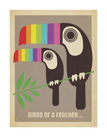 Rainbow Toucans