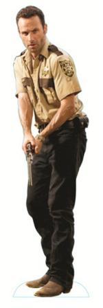 The Walking Dead - Rick Grimes Lifesize Standup