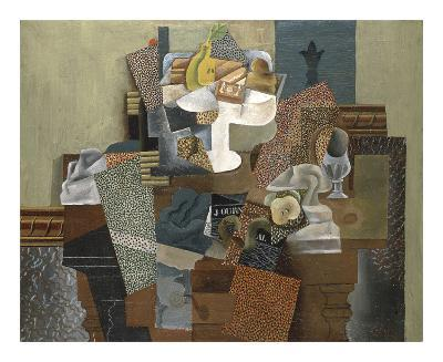 Still Life with Compote and Glass, Winter 1914-15