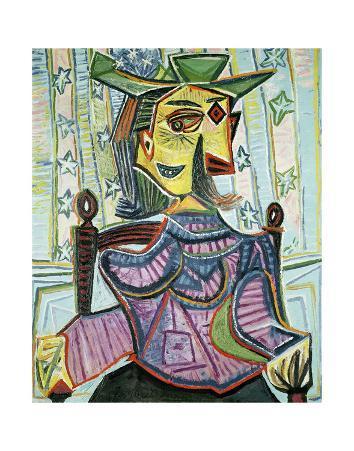 Seated Portrait of Dora Maar