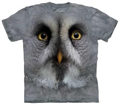 Youth: Great Grey Owl Face