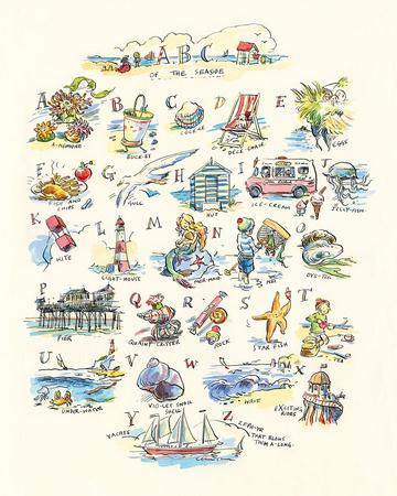 ABC of The Seaside
