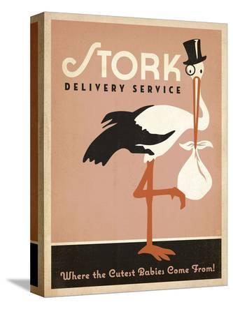 Stork Delivery Service (Pink)
