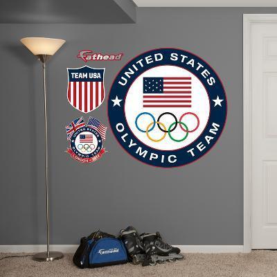 Team USA Logo Wall Decal Sticker