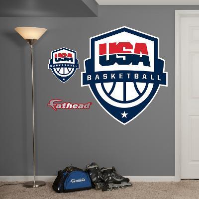 USA Basketball Logo Wall Decal Sticker