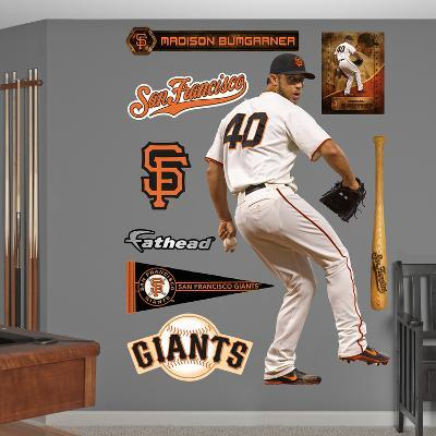 San Francisco Giants Madison Bumgarner Wall Decal Sticker